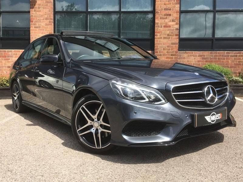 used Mercedes E220 BLUETEC AMG NIGHT EDITION PREMIUM in leicester