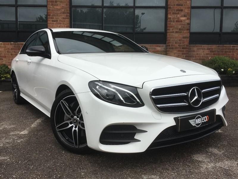 used Mercedes E220 E-CLASS E 220 D AMG LINE in leicester