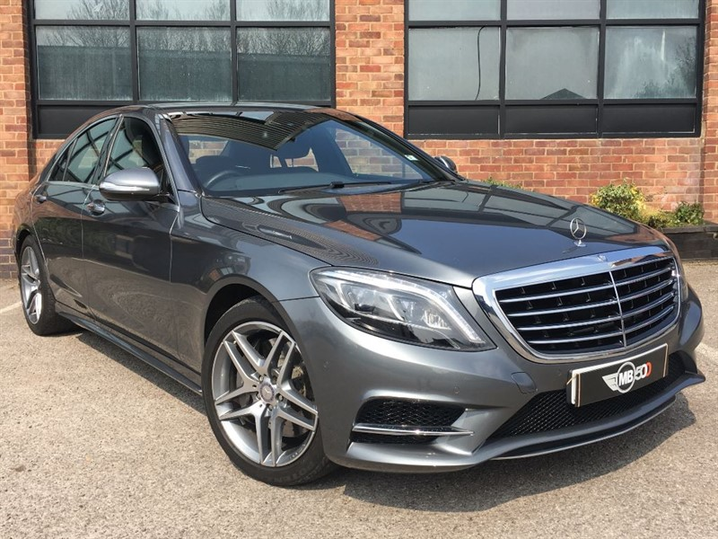used Mercedes S350 S-CLASS S 350 D AMG LINE in leicester