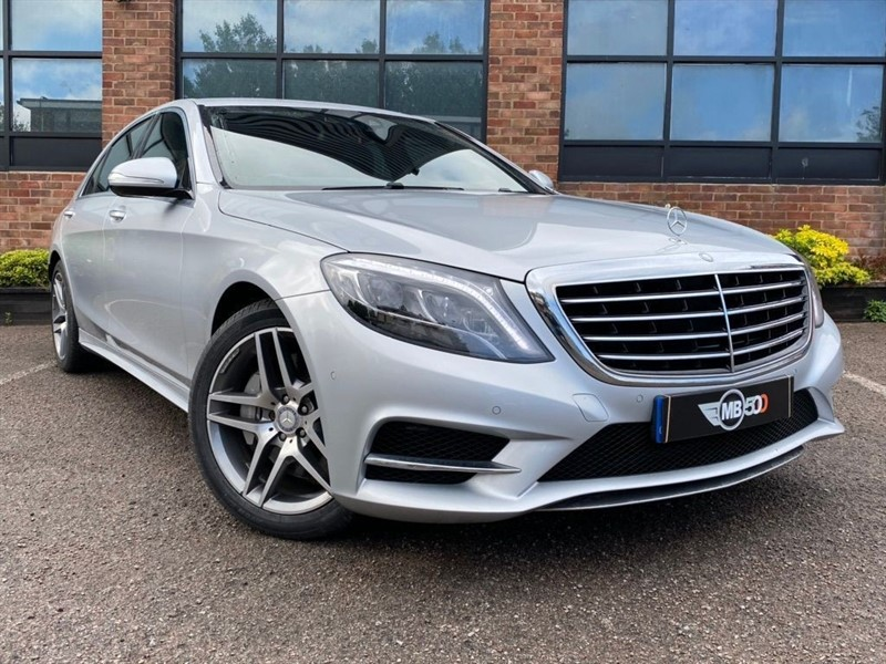used Mercedes S350 BLUETEC L AMG LINE in leicester
