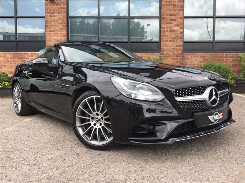 used Mercedes SL C SLC 200 AMG LINE in leicester