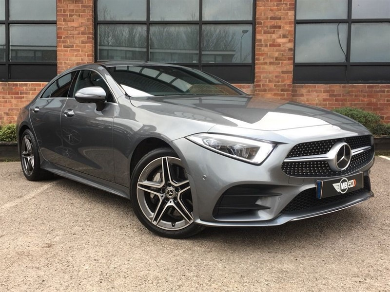 used Mercedes CLS350 CLS 350 D 4MATIC AMG LINE PREMIUM PLUS in leicester