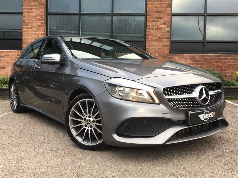 used Mercedes  A 180 D AMG LINE in leicester