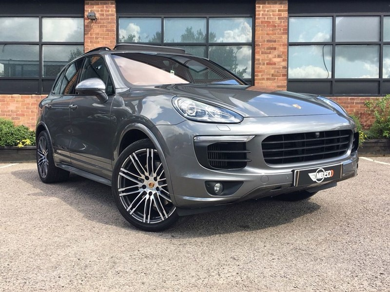used Porsche Cayenne D V8 S TIPTRONIC S in leicester