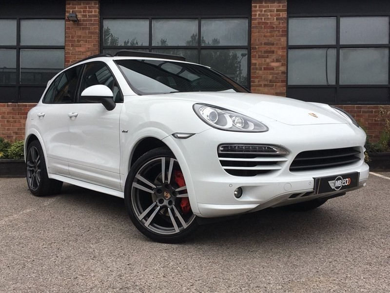 used Porsche Cayenne D V6 TIPTRONIC in leicester