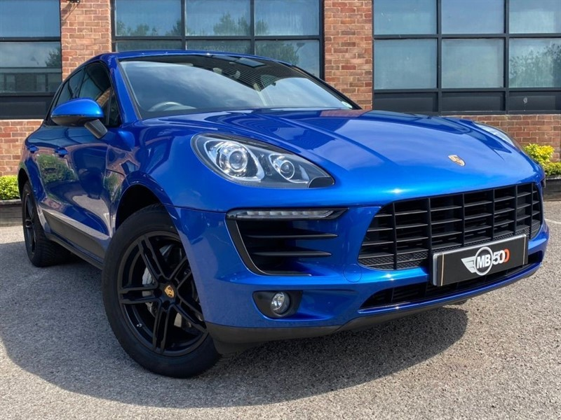 used Porsche Macan D S PDK in leicester