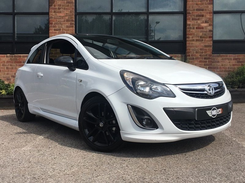 used Vauxhall Corsa LIMITED EDITION in leicester