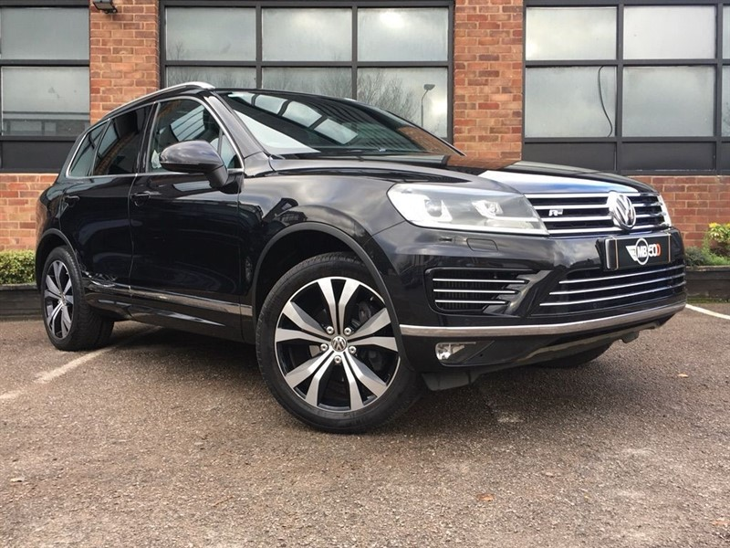 used VW Touareg V6 R-LINE TDI BLUEMOTION TECHNOLOGY in leicester