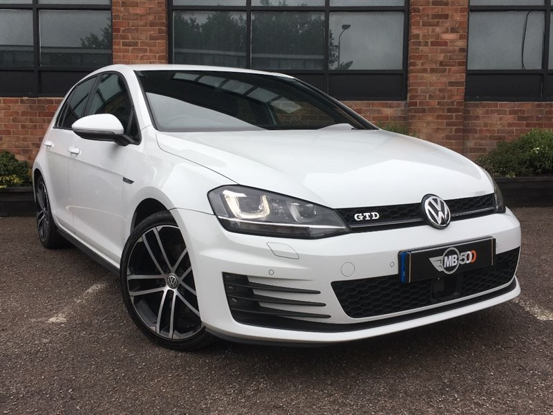 used VW Golf GTD DSG in leicester