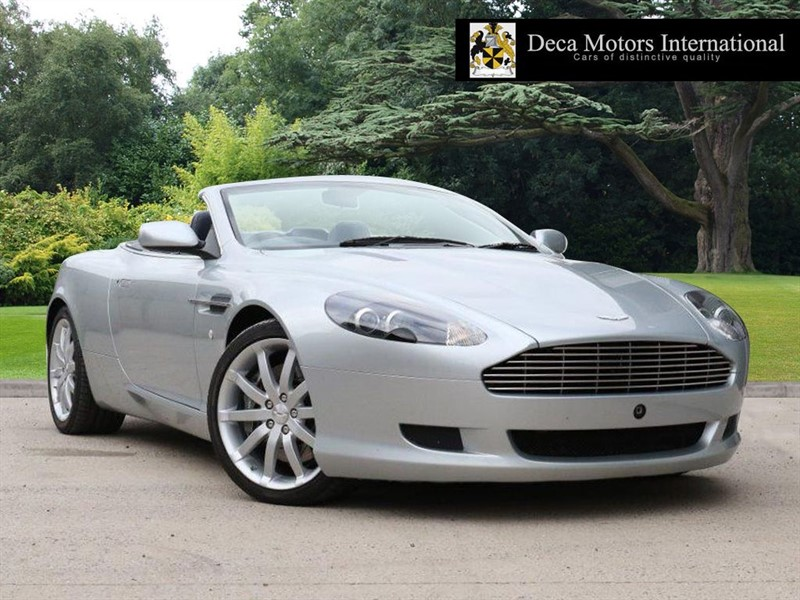 "used Aston Martin DB9 V12 VOLANTE ""10K MILES"" ""1 Owner From New"" in London"
