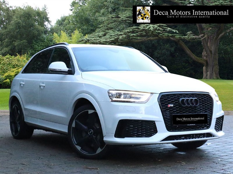 "used Audi Q3 RSQ3 TFSI QUATTRO ""High Spec"" in London"
