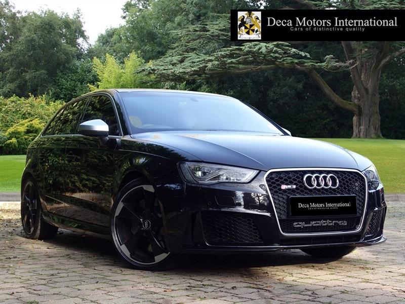 used Audi RS3 SPORTBACK QUATTRO NAV in London