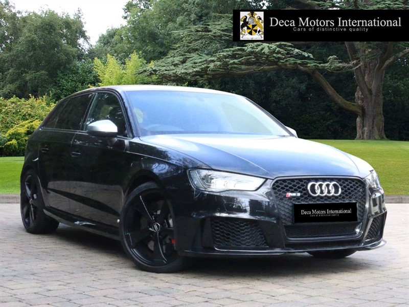 "used Audi RS3 RS3 SPORTBACK QUATRO ""Dynamic Package"" in London"