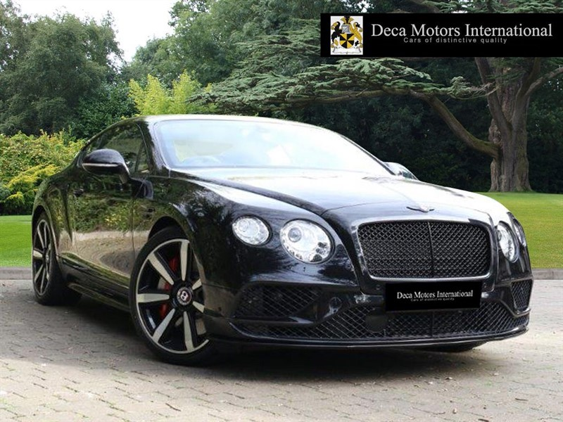 used Bentley Continental GT V8S (Mulliner Driving Spec) (BLACK STYLING PACK) (VAT Q) in London