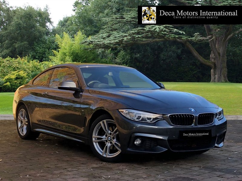 used BMW 420d XDRIVE M SPORT in London