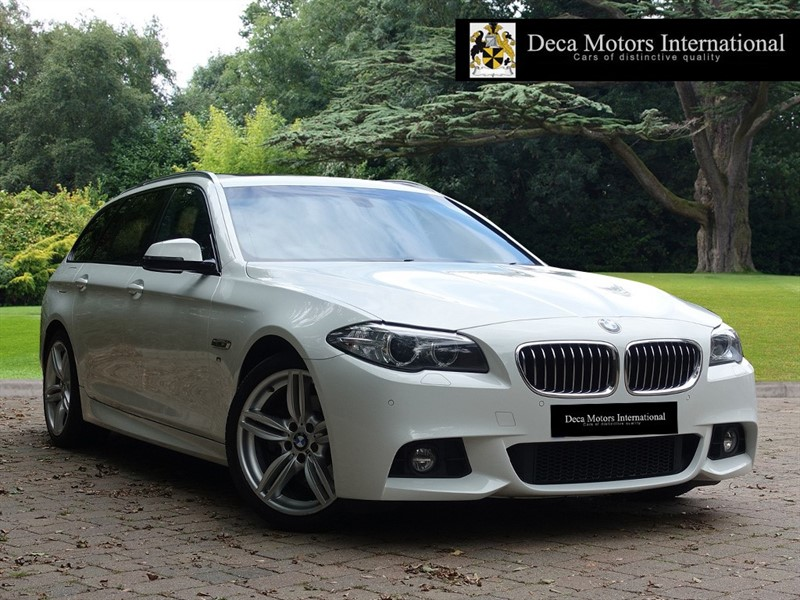 used BMW 520d M SPORT TOURING in London