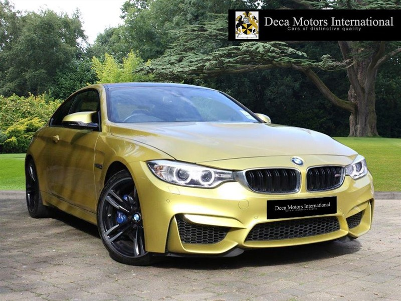 "used BMW M4 ""HIGH SPEC"" 1yr Extended BMW Warranty 5 yr Service Plan in London"