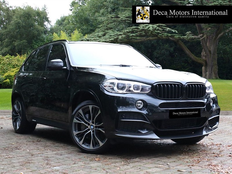 "used BMW X5 50D ""M Carbon Kit"" ""7 Seater"" in London"