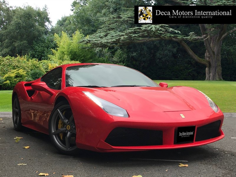 used Ferrari  488 GTB L.H.D (VAT Q) in London