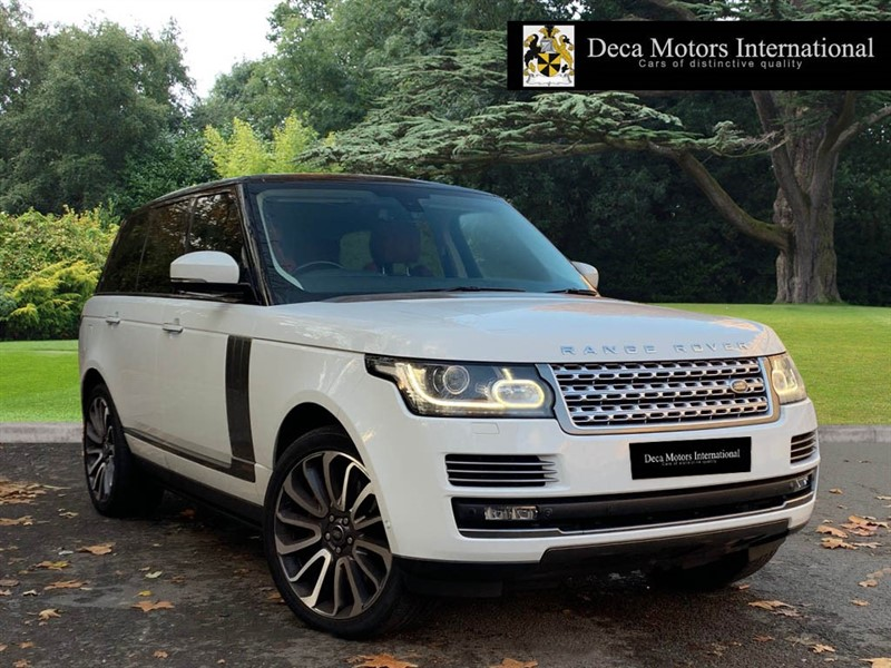 used Land Rover Range Rover V8 AUTOBIOGRAPHY SUPERCHARGED (VAT Q) in London