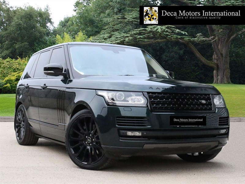 "used Land Rover Range Rover SDV8 AUTOBIOGRAPHY ""BLACK PACK"" ""LAND ROVER WARRANTY"" in London"