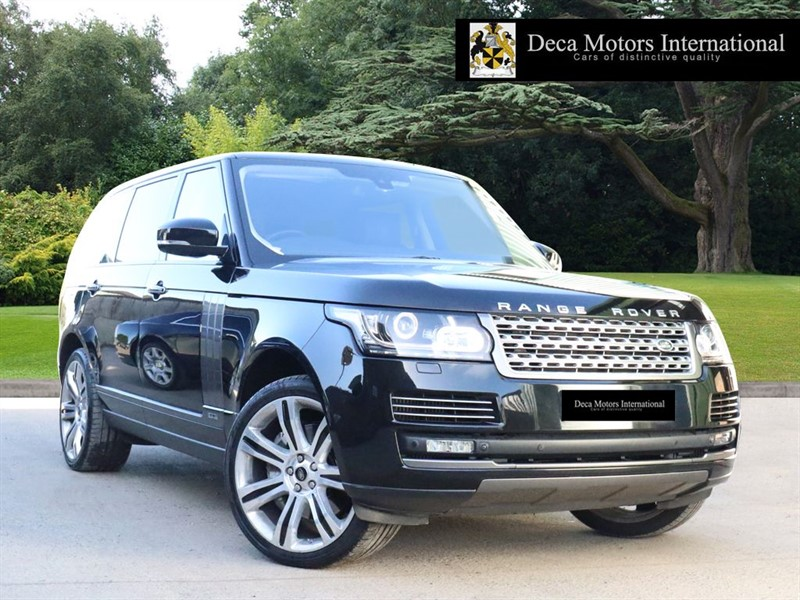 used Land Rover Range Rover SDV8 LWB AUTOBIOGRAPHY (RSE) in London