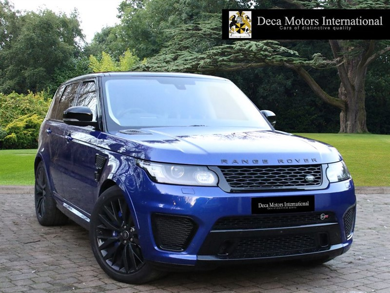 used Land Rover Range Rover Sport SVR (VAT Q)  High Spec  in London