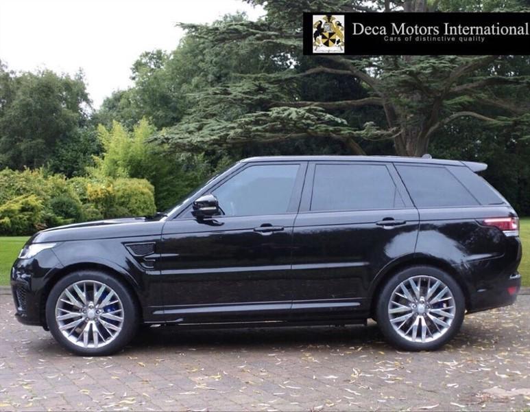 used Land Rover Range Rover Sport SVR High Spec in London