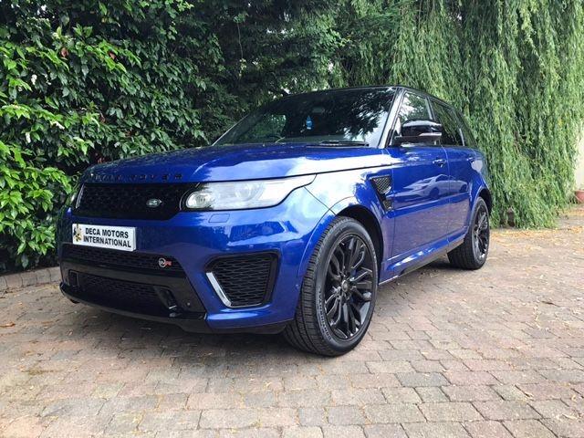 used Land Rover Range Rover Sport SVR in London