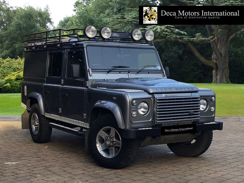 used Land Rover Defender 110 TD XS UTILITY WAGON HIGH SPEC in London
