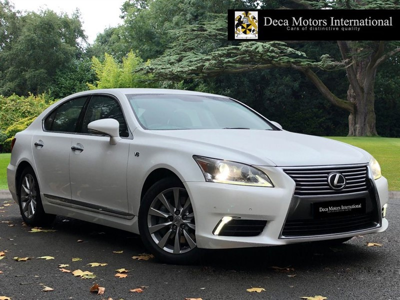 "used Lexus LS 460 LUXURY ""High Spec"" in London"