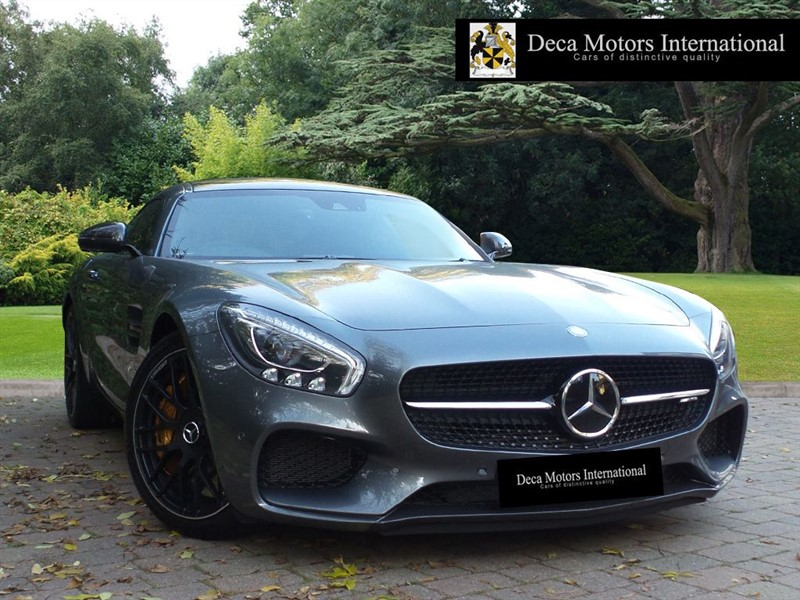 "used Mercedes AMG GT GT AMG GT S PREMIUM ""HIGH SPEC"" ""Ceramic Brakes"" in London"
