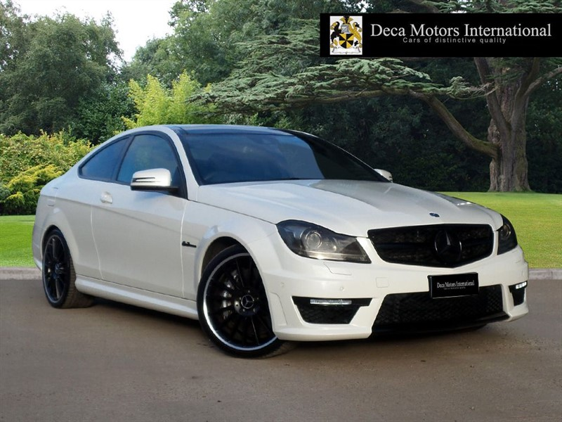 """used Mercedes C63 AMG """"FULL MERCEDES SERVICE HISTORY """" in London"""
