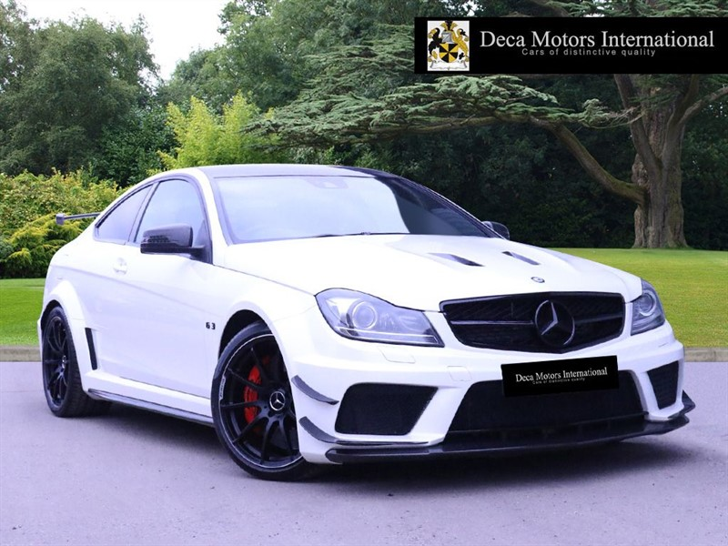 used Mercedes C63 AMG BLACK SERIES AERO & CARBON PACK 1 OF 30 UK CARS in London