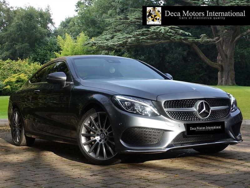 used Mercedes C220 C220D COUPE AMG LINE PREMIUM PACK