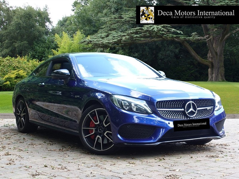 used Mercedes C43 AMG 3.0 C43 AMG 9G-Tronic Plus 4MATIC (s/s) 2dr
