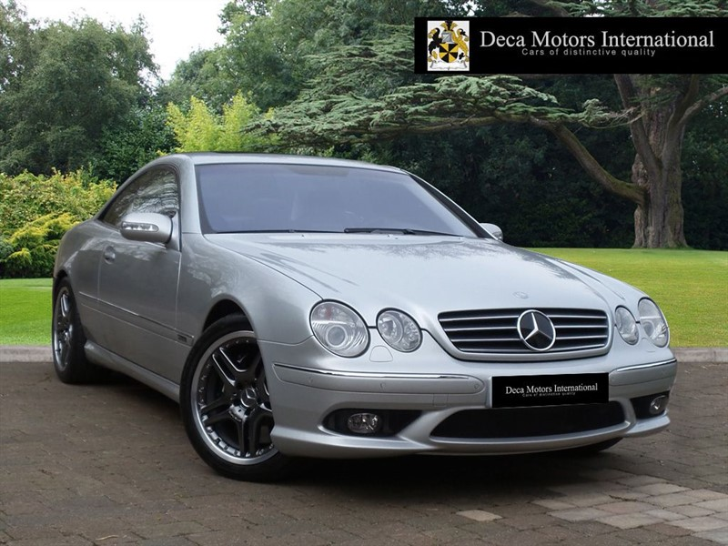 used Mercedes CL55 AMG F1 Limited Edition 40/55 L.H.D in London