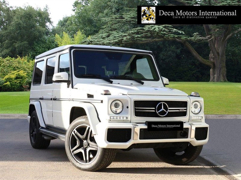 "used Mercedes G63 AMG ""L.H.D"" ""HIGH SPEC"" ""1 Years MB Warranty and Road Side Assist"" in London"