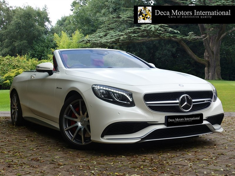 used Mercedes S63 AMG AMG S 63 (HIGH SPEC) in London