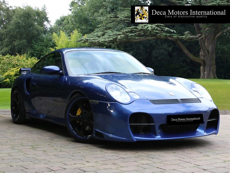 used Porsche 911 TURBO TIPTRONIC S (FULL TECHART CONVERSION) in London