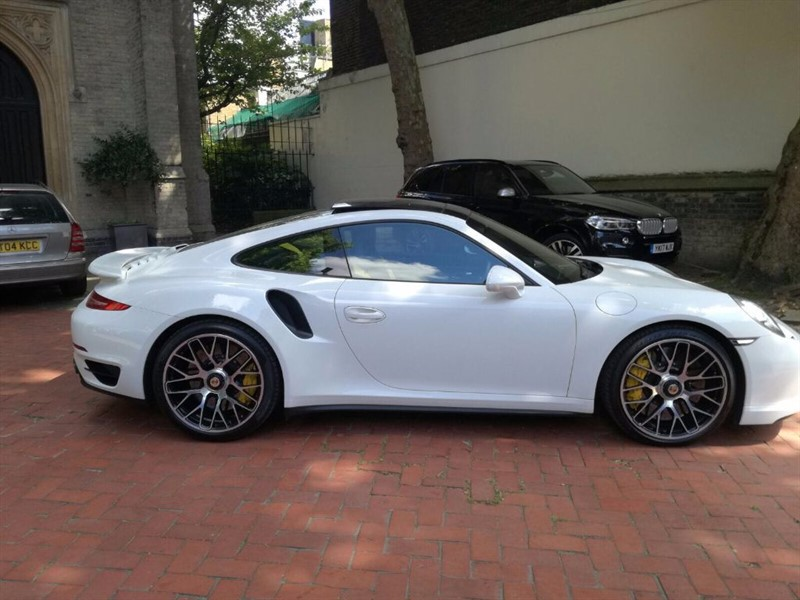 used Porsche 911 Turbo S PDK in London