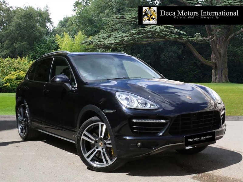 used Porsche Cayenne V8 TURBO TIPTRONIC in London