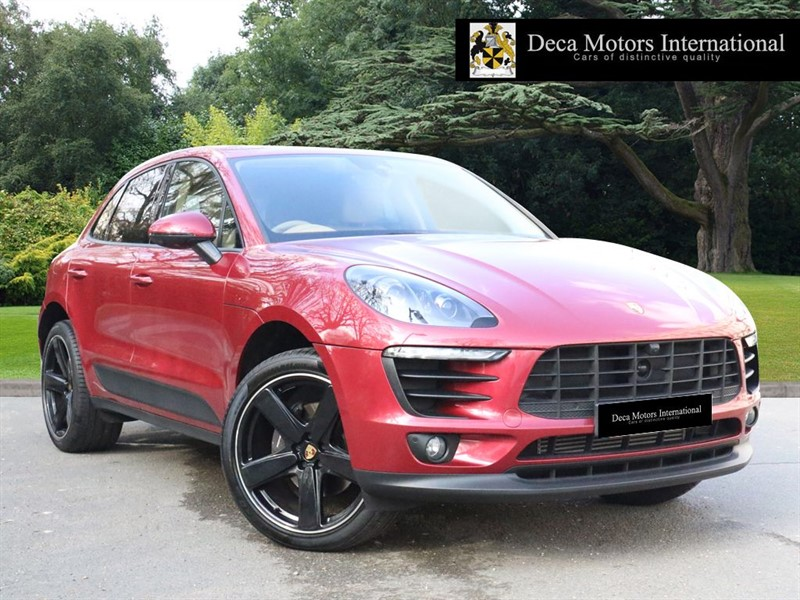 "used Porsche Macan PDK ""High Spec"" in London"