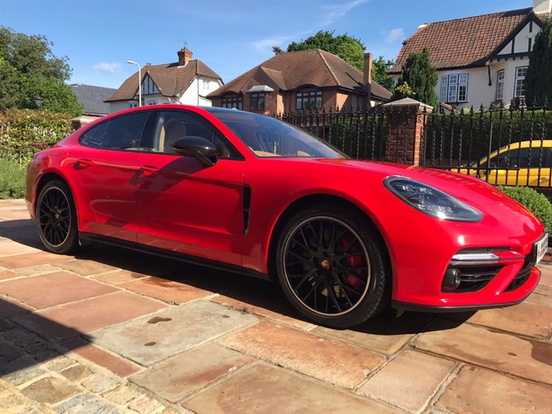 used Porsche Panamera TURBO PDK in London
