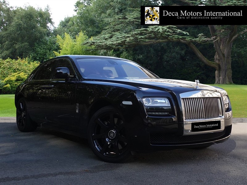 used Rolls-Royce Ghost V12 SWB