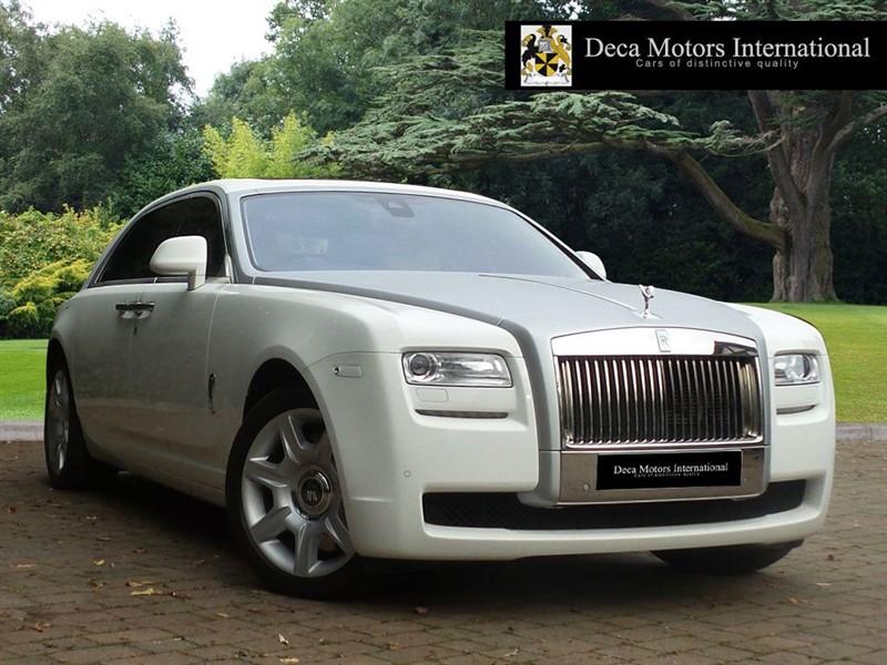 "used Rolls-Royce Ghost EWB ""GOODWOOD ED"" in London"