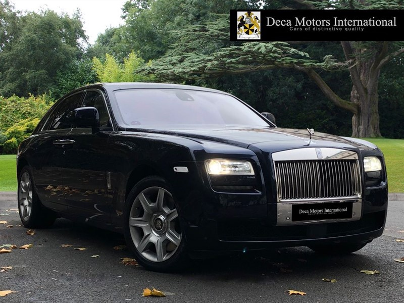 "used Rolls-Royce Ghost ""High Spec"" ""Low Miles"" ""RSE"" in London"