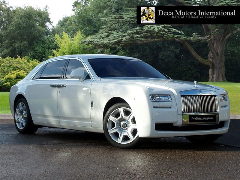 "used Rolls-Royce Ghost EWB ""High Spec"" in London"