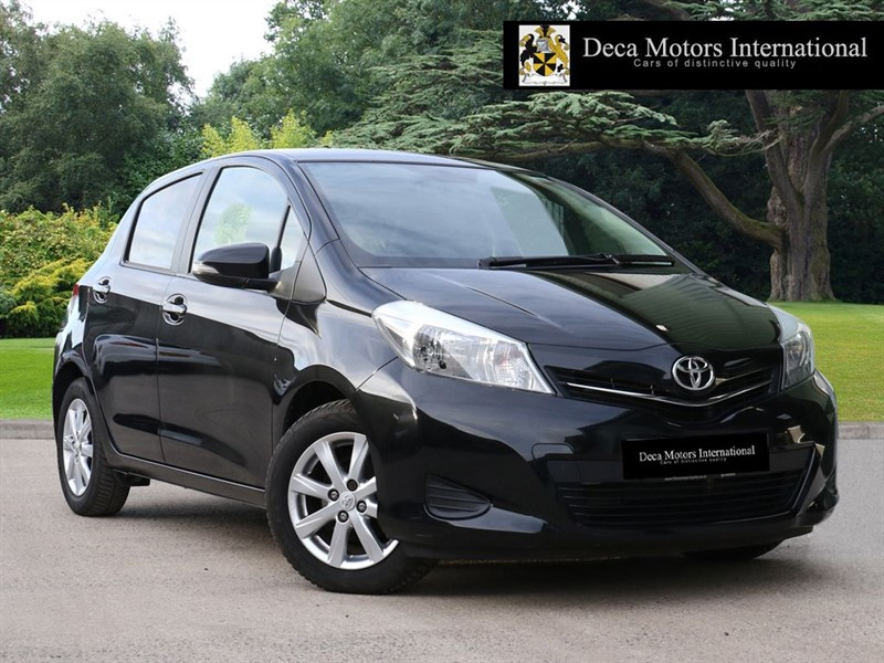 used Toyota Yaris D-4D TR in London