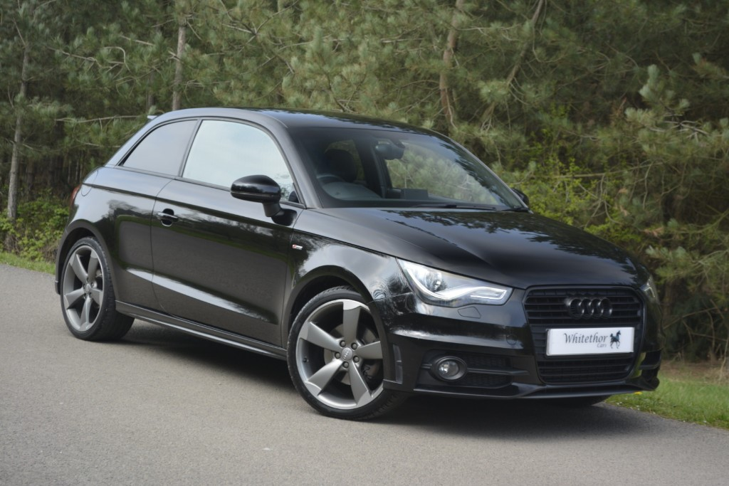 used Audi A1 TDI S LINE BLACK EDITION in leicestershire